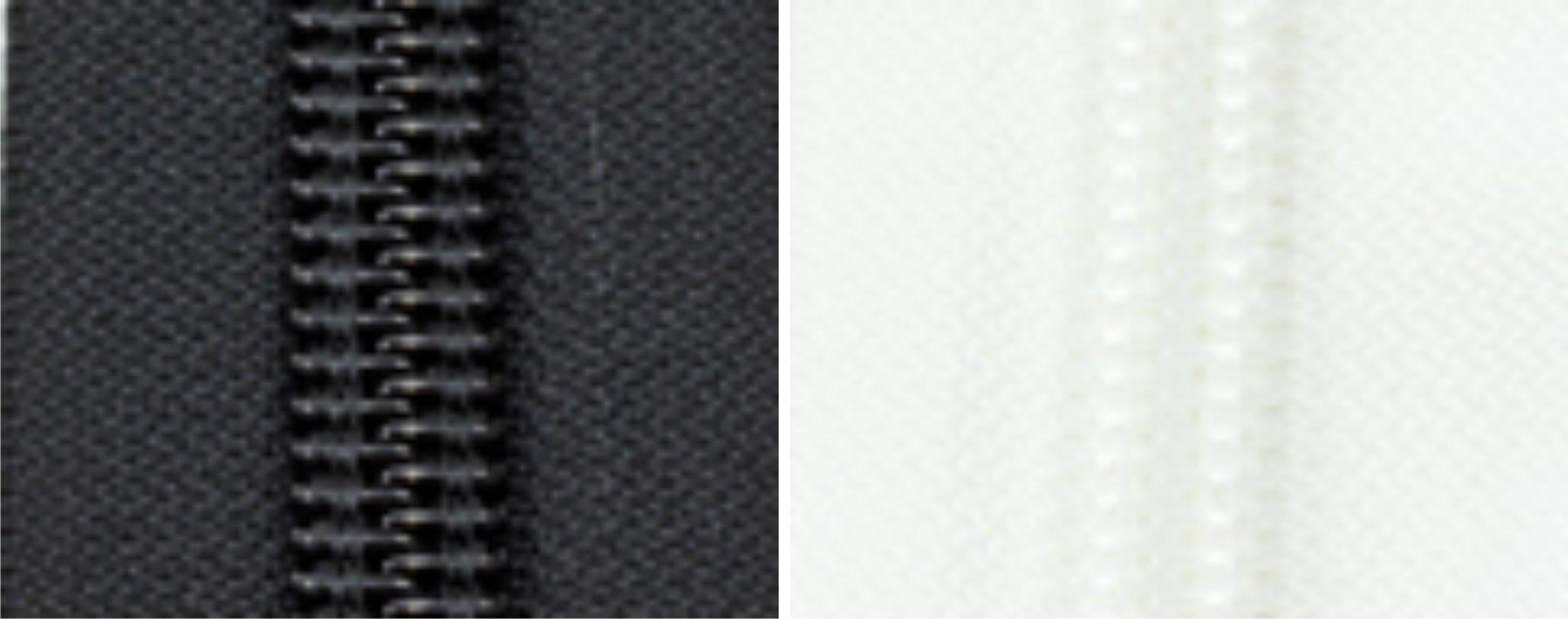 "#10CF YKK Ziplon Zipper - Chain 11/16"" Tape."
