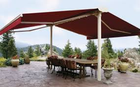Double Folding Arm Awning