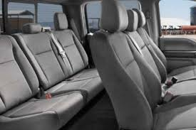 Two Rows Truck Leather Seats