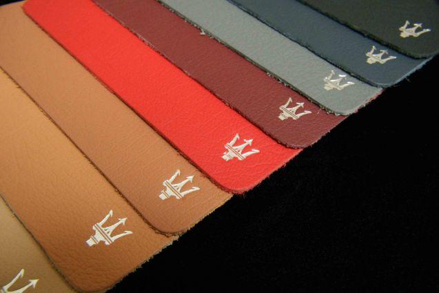 OEM Maserati Leather
